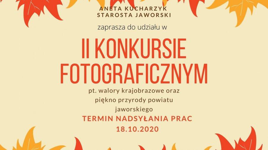 II Konkurs Fotograficzny