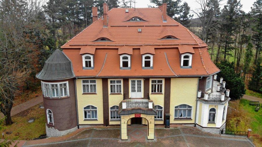Przetarg pisemny nieograniczony na Pałacyk w Muchowie